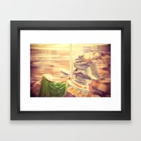 Merry-go-round From Our … Framed Art Print