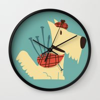 Scottish  Terrier - My P… Wall Clock