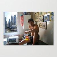 Singapore boy Canvas Print