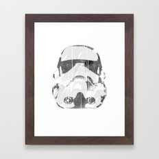 Watermark Stormtrooper Framed Art Print