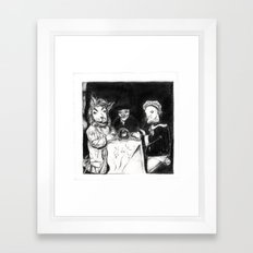 séance Framed Art Print