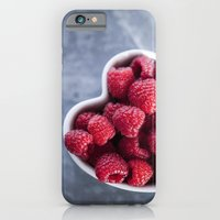 Raspberries For A Health… iPhone 6 Slim Case