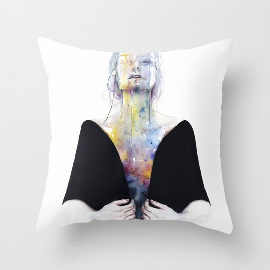 another one (inside the shell)  Throw Pillow