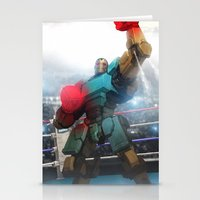 Mecha Series // Balrog  Stationery Cards