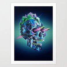 Diamond Mohawk II Art Print