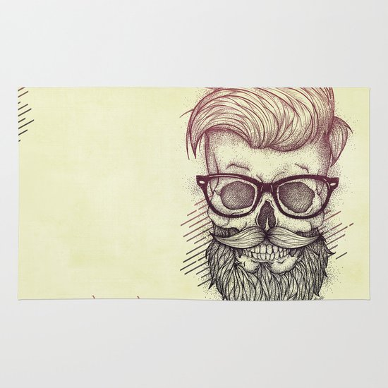 Hipster is Dead Area & Throw Rug