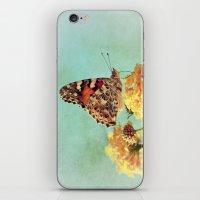 Butterfly On Lantana iPhone & iPod Skin