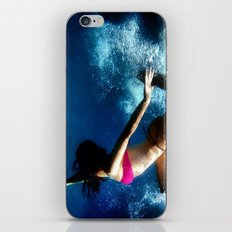 Tangled up in blue iPhone & iPod Skin