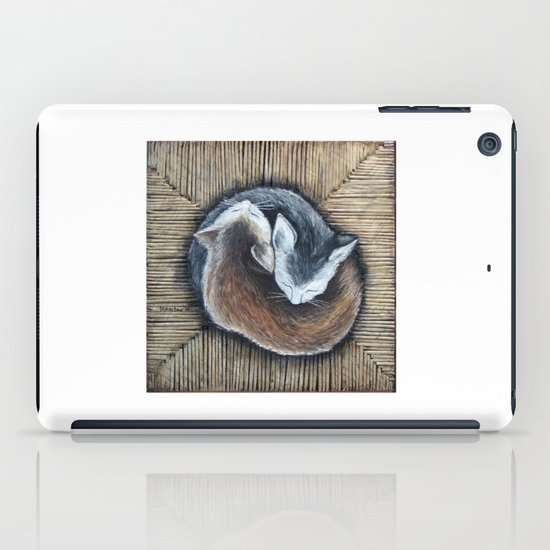 Cats rest iPad Case