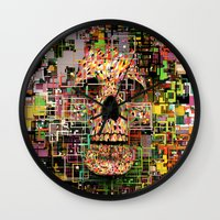 White Noise Wall Clock