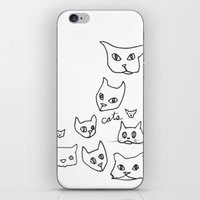 Cats Cat iPhone & iPod Skin