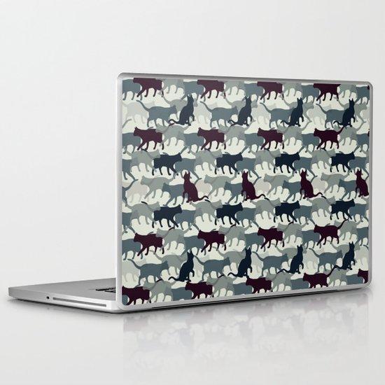 Cat Camo Laptop & iPad Skin
