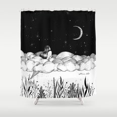Moon River Shower Curtain
