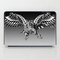 iPad Case featuring Ornate Falcon by BIOWORKZ