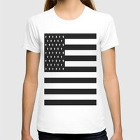 flag T-shirts featuring Flag by Blindspots Arts