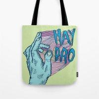 HAY BRO Tote Bag