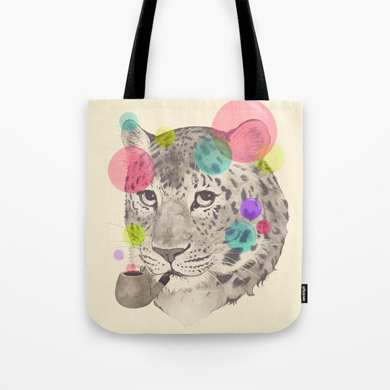 leopard changes his spots Tote Bag