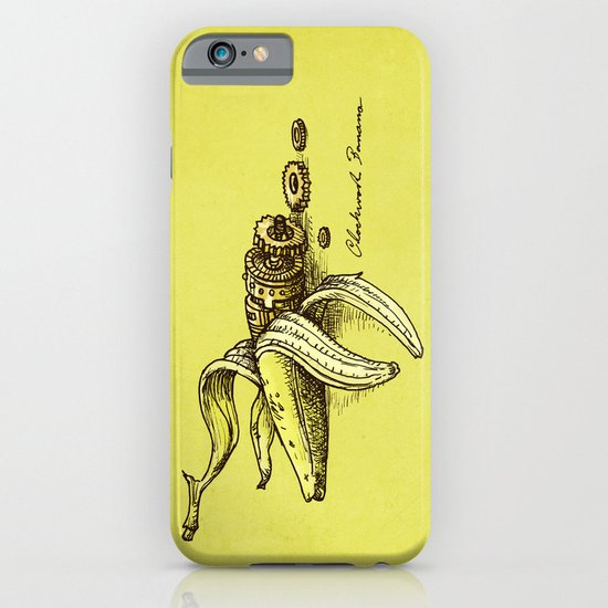 Clockwork Banana iPhone & iPod Case