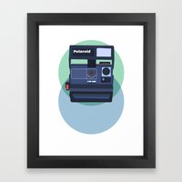 Paper Cups and Nervous Hiccups  Framed Art Print