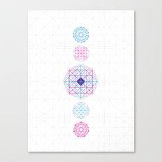 Geometric Mandalas Canvas Print