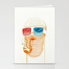 Old Man Smoking Giraffe … Stationery Cards
