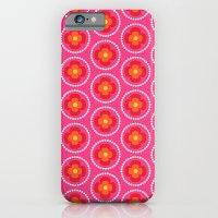 Retro happy bright floral 5 iPhone 6 Slim Case
