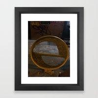 Interopia Enters Manhattan Framed Art Print