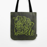 MYSTERIOUS INTERNET Tote Bag