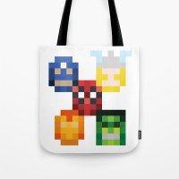 five heroes Tote Bag