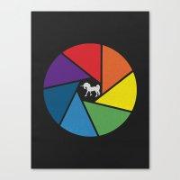 Capture The Unicorn Canvas Print