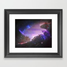 NGC 4258 (also known as M106) Framed Art Print