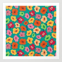 BP 13 Flowers Art Print