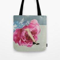 Rose Legs Tote Bag