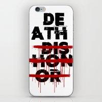 Death Before Dishonor iPhone & iPod Skin