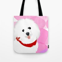 Coton De Tulear Dog Art Tote Bag