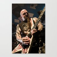 Kerry King of Slayer Canvas Print