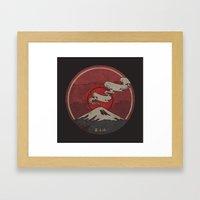Fujisan Framed Art Print