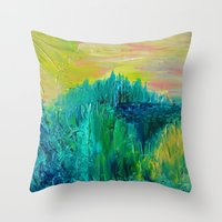 DREAM-SCAPE - Amazing Id… Throw Pillow