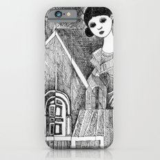 Girl on the top of her house. iPhone 6s Slim Case