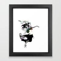 Dance Dance Framed Art Print