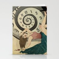 The Clock Stationery Cards