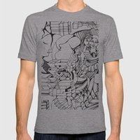 In Love Mens Fitted Tee Athletic Grey SMALL