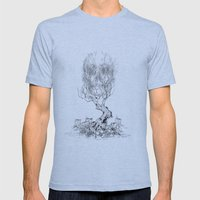 Extinction  Mens Fitted Tee Athletic Blue SMALL