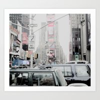 NEW YORK 2 Art Print