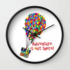 Up! Adventure is Out There! Wall Clock