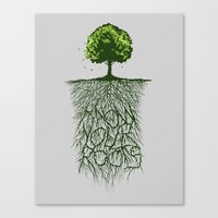 Know Your Roots  Canvas Print