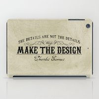 The Details Are Not The … iPad Case