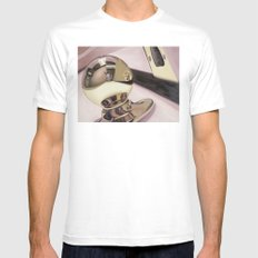 Doorknob #3 SMALL White Mens Fitted Tee