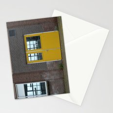 Yellow doors Stationery Cards
