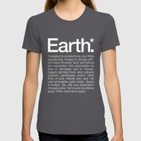 Earth.* Available For A … Womens Fitted Tee Asphalt SMALL